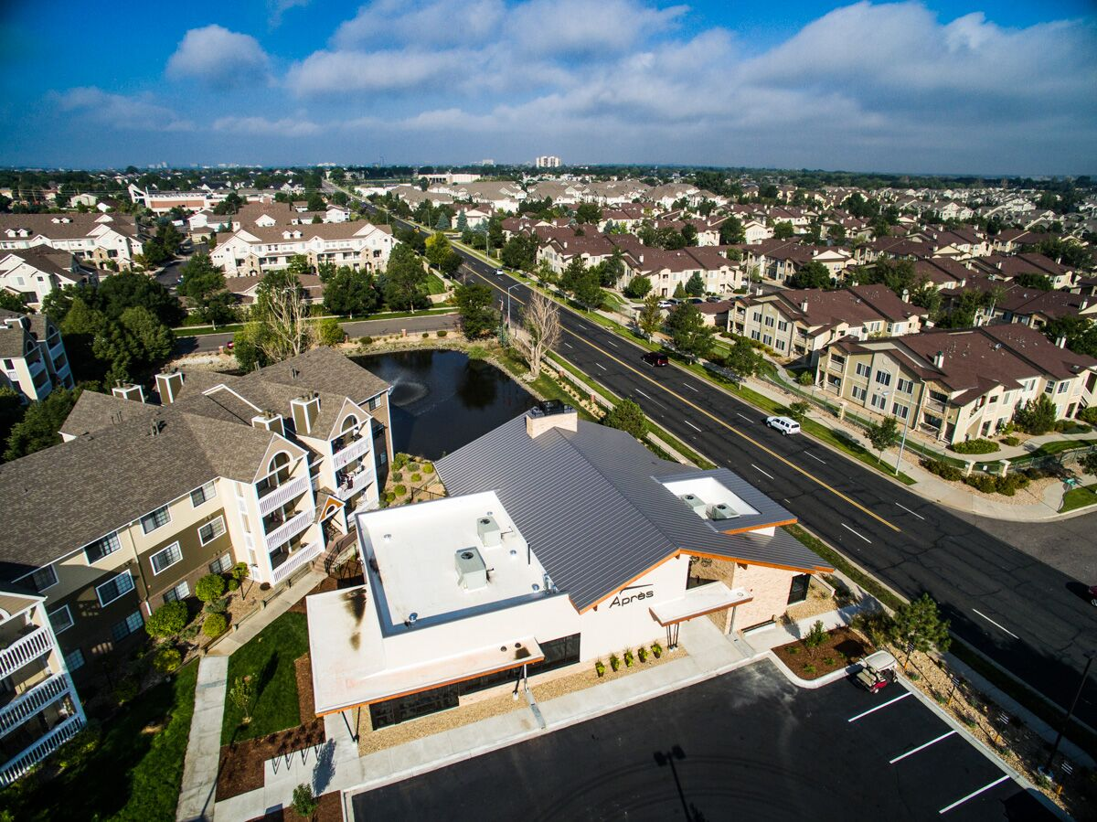 Ponderosa Apartments Clubhouse D 7 Roofing