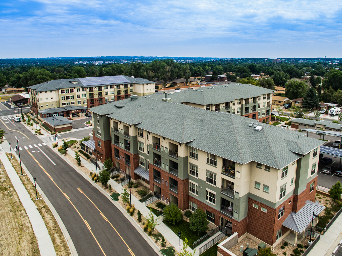 Town Center Apartments D 7 Roofing