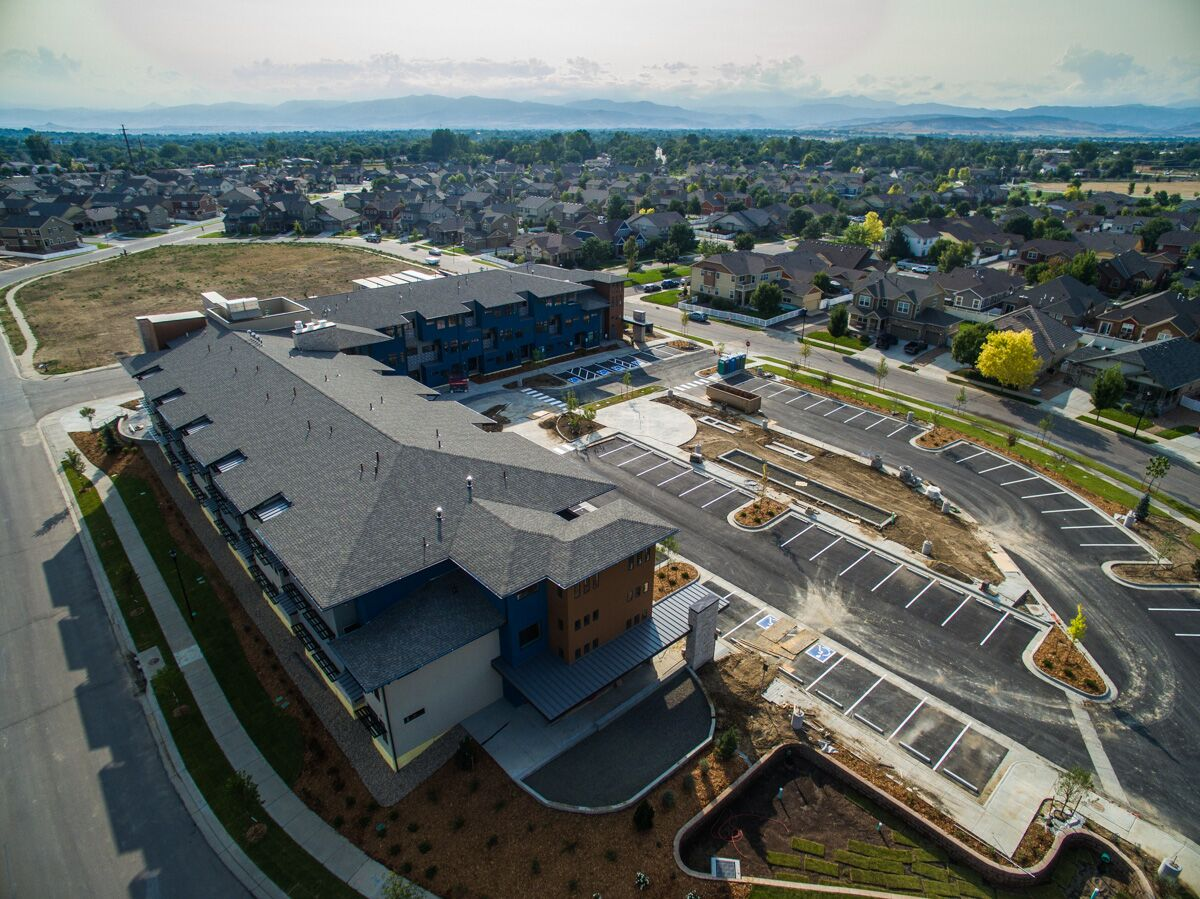 Spring Creek Apartments D 7 Roofing